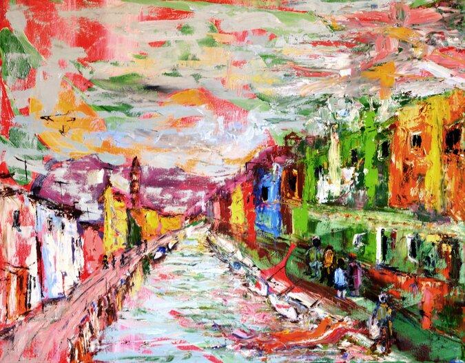 בוראנו ונציה / ורדה בר ניר