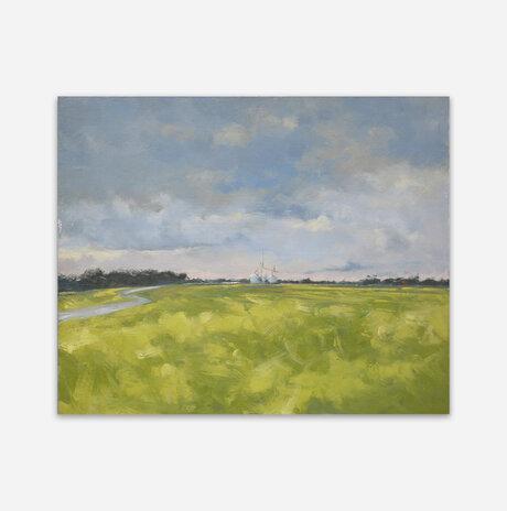 Green fields in Maryland US / Noa Arbel