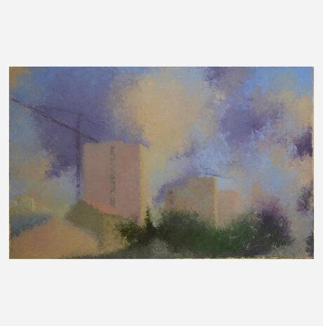 Purple City and Sky / Noa Arbel