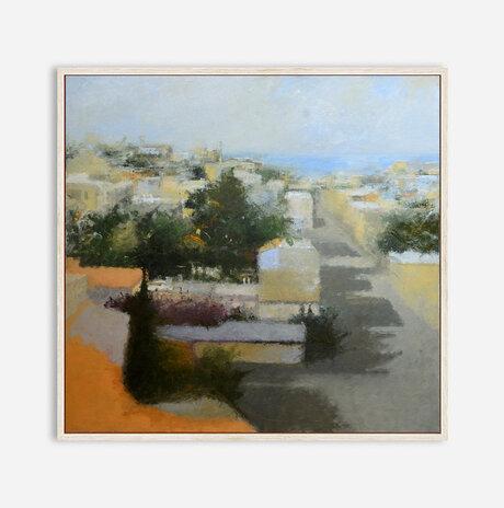 נוף מגג בתל אביב II / נועה ארבל