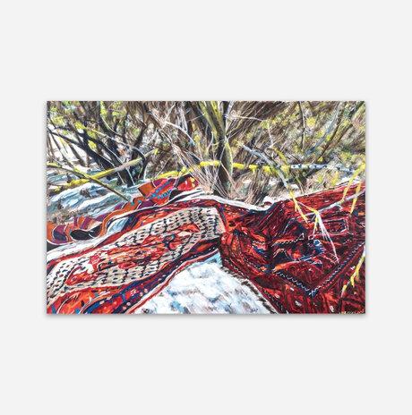 שטיחים בטבע / שרה ליפקין