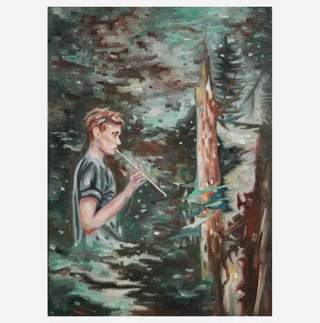 The flutist / Refael Salem