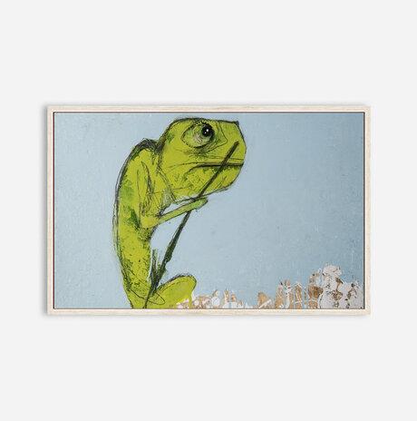 Camellia chameleon / Naama Segal