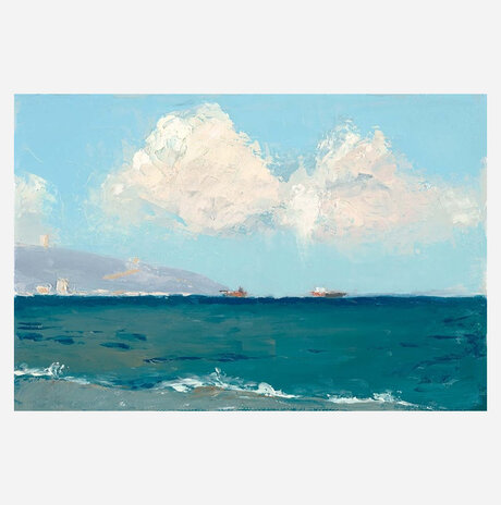 Acre, two clouds / Shulamit Near