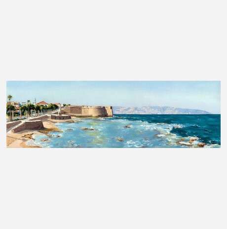 Acre, a view from Net coffee / Shulamit Near