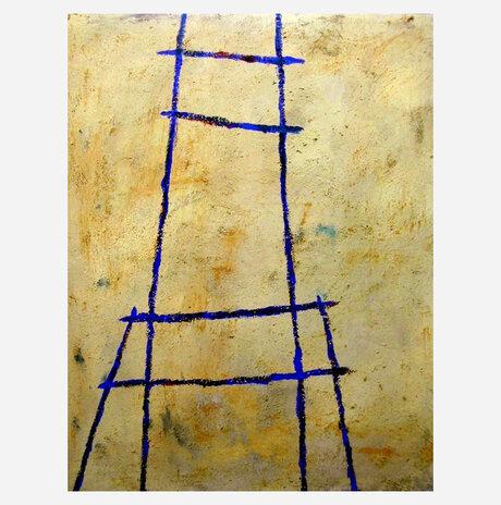 Blue Chair 1 / Daniella Meller