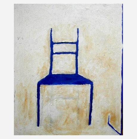 Blue Chair 2 / Daniella Meller