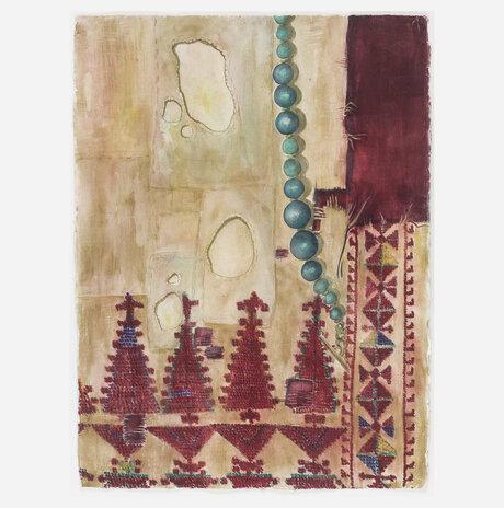 Ancient Bedouin Embroidery / Daniella Meller