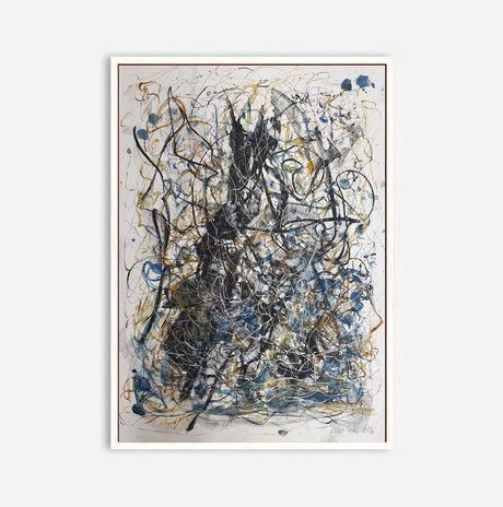Abstract landscape 24 / Orly shalem