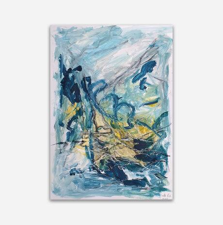 Abstract landscape 23 / Orly shalem