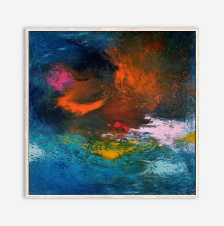 A storm at sea / Orly shalem