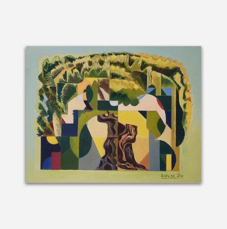 אבסטרקט עץ זית / סולומון (סולי) גילוס