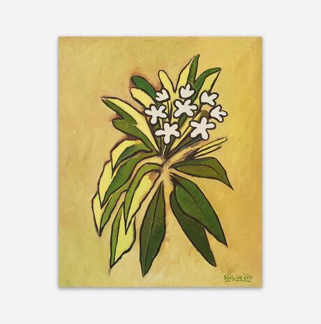 שמונה פרחים לבנים / סולומון (סולי) גילוס