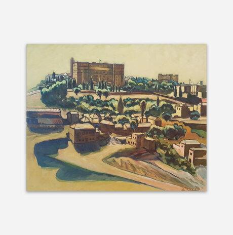 נוף למלון המלך דוד בירושלים / סולומון (סולי) גילוס
