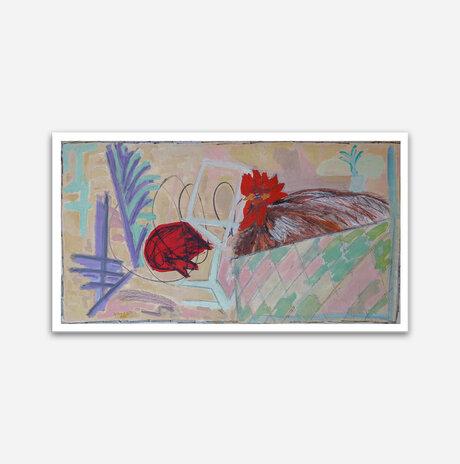 rooster / Dalia Zerachia