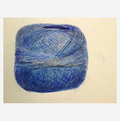 Sewing threads I / Dalia Zerachia