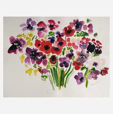Large Poppies / Pamela Silver