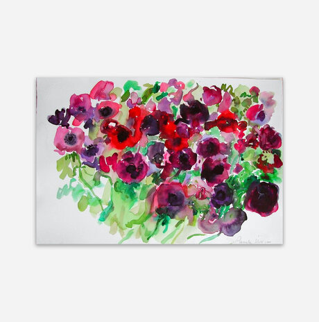 A field of poppies / Pamela Silver