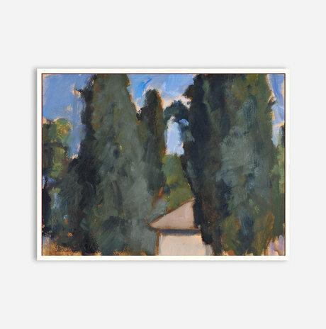 Cypress. Fall. Givat Haviva / Nurit Gur Lavy