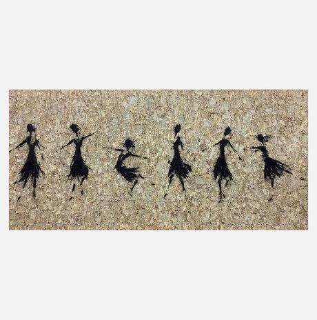 רקדניות - יוכן בהזמנה אישית / נעמי לינזן