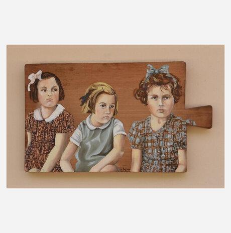 שלוש ילדות / חיה גרץ רן