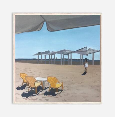 Beach and girl / Zohar Flax