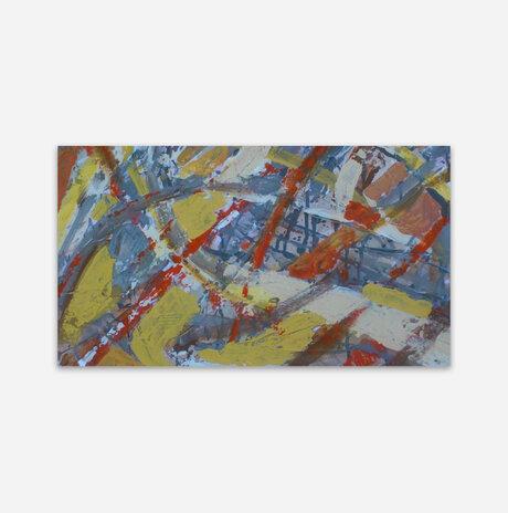 Acrylic on canvas 63 / Liora Ganor