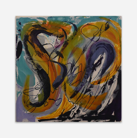 Acrylic on canvas 19 / Liora Ganor