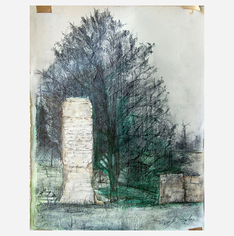 British Ruins with a Tree / Assaf Rodriguez