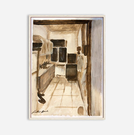 Sketch for Kitchen Interior / Jonathan Beck
