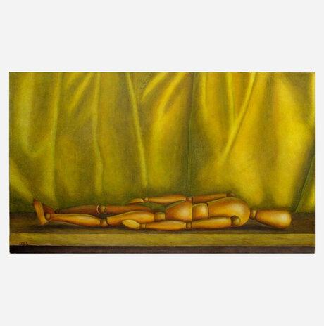 Yellow Painting / Jonathan Beck