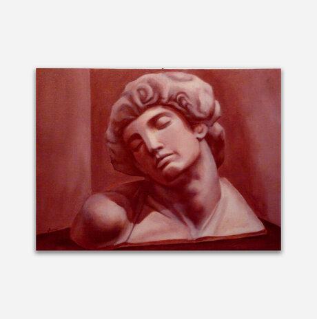 Study after Michelangelo / Jonathan Beck