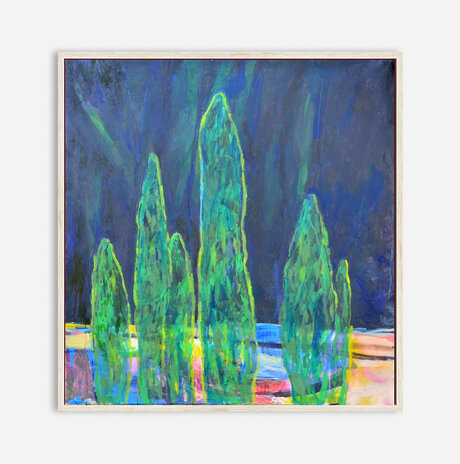 cypresses landscape 1 / Nili Ariely