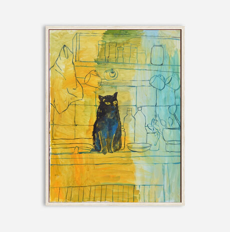 cat in the house / Nili Ariely