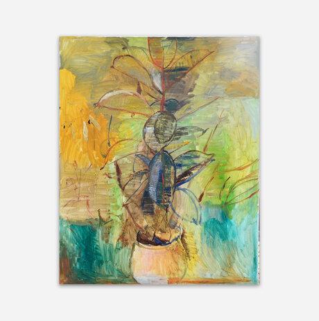 Ficus in a pot / Nili Ariely