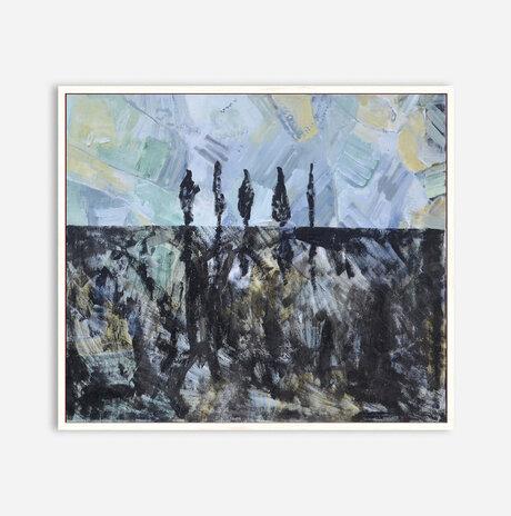 cypresses landscape / Nili Ariely