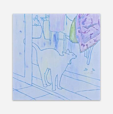 yawining cat / Nili Ariely